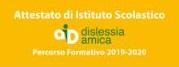 Logo Attestato Dislessia
